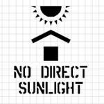 Warning - No Direct Sunlight, Artwork