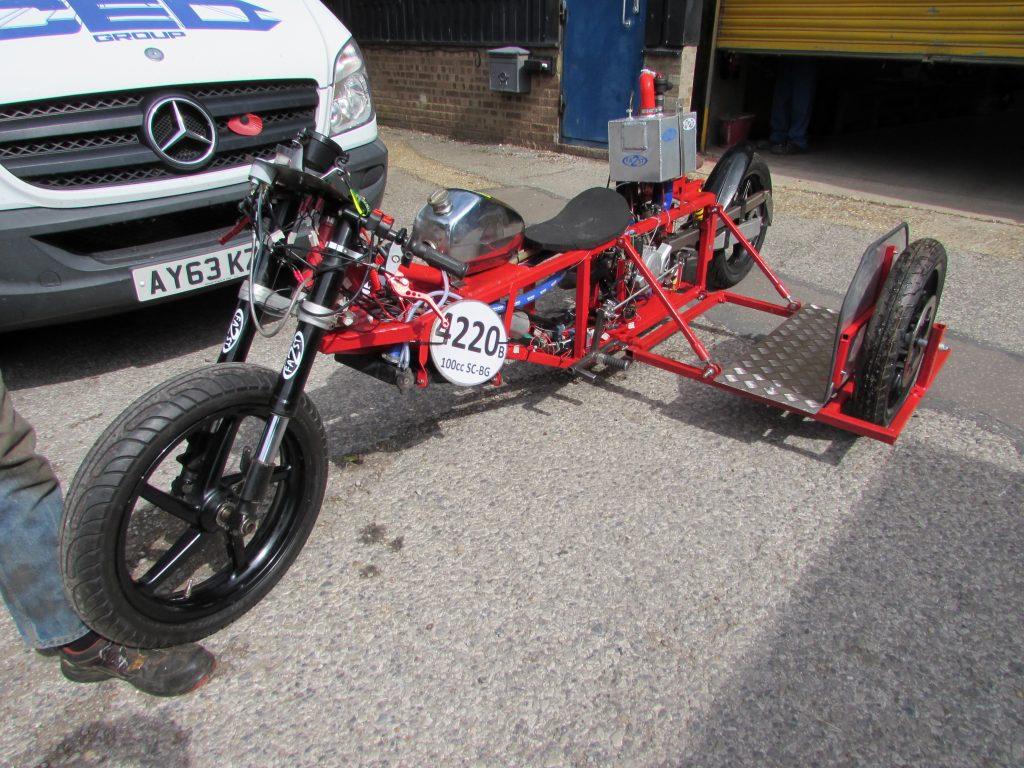 Motor Cycle & Sidecar